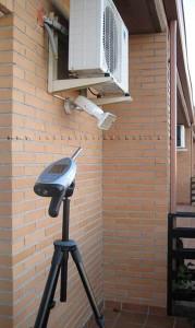 Medición de ruido provocado por maquina de climatización