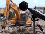 Medición de ruido en ambiente exterior por obra