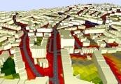 Mapas de ruido y Simulación en 3D de ruido